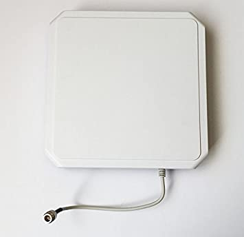 UHF lector RFID Antenna (902 – 928 MHz, 8dBi lhc Pol) mano ...