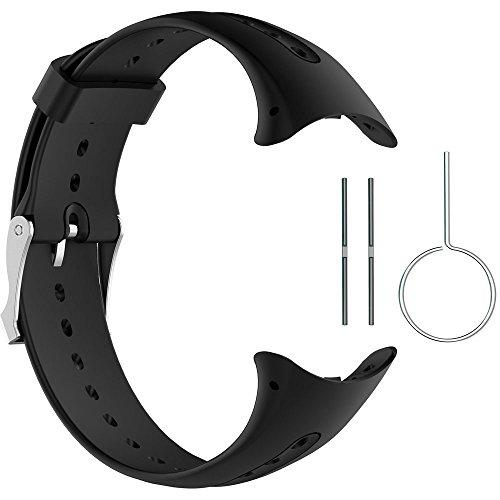 Malla para reloj Garmin Swim (silicona, negra)