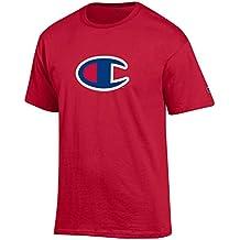 Champion Men's Classic Jersey Script Cotton T-Shirt