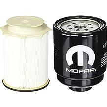 Dodge Ram 6.7 Liter Diesel Fuel Filter Water Separator Set Mopar OEM