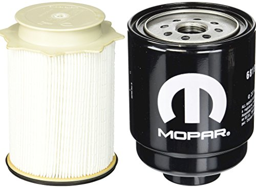 1. Mopar Dodge Ram 6.7 Liter Diesel Fuel Filter Water Separator Set