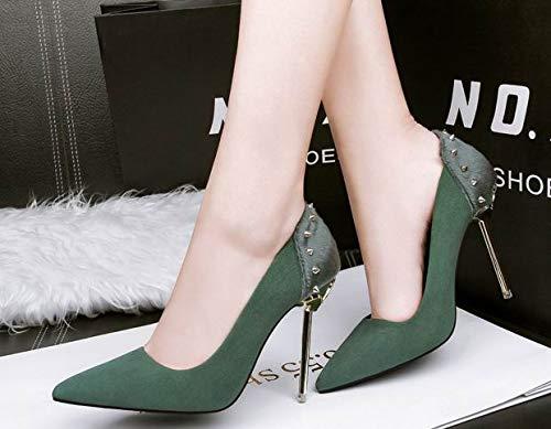 Renly 55 Sandales 36 Femme 3 Green Compensées 5 608 Vert xfrdZwx