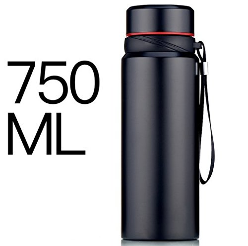 Surprising Day Large Capacity Vacuum Cup 750ml Stainless Steel Car Thermos Travel Sports Insulated Thermomug Water Bottle Garrafa Termica color 4 500-1000ml