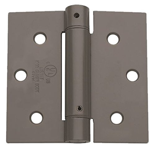 Global Door Controls CPS3535-USP-3 Imperial USA Commercial Grade Full Mortise Plain Bearing Hinge (Set of 3), Steel