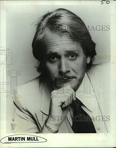 1978 Press Photo Comedian Martin Mull co-hosts on