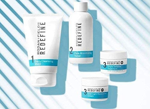 rodan fields redefine regimen for the appearance of lines pores and loss of firmness