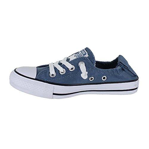 Converse Womens Shore Slip On Sneaker Blue Coast White