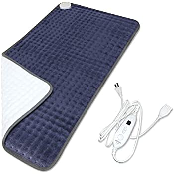 BesDio XXX-Large Heating Pad for Fast Pain Relief, UL Certificate FDA Approved, 6 Heat Settings with Auto Off, Moist Heat Therapy Option, Machine Washable, 33