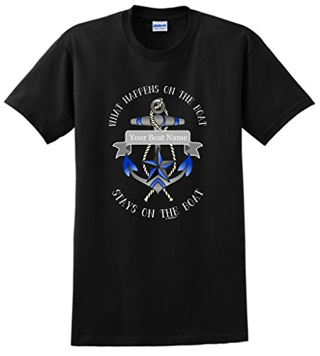 Personalized Custom Funny Nautical T Shirt