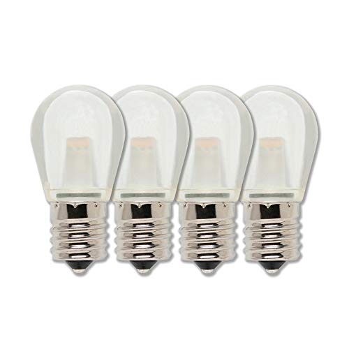 Westinghouse Lighting 4511420 10W Equivalent S11 Clear LED Light Bulb with Intermediate Base (4 Pack),