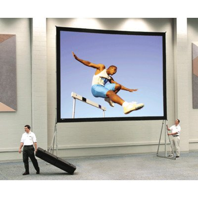 Da-Tex Fast Fold Heavy Duty Deluxe Complete Rear Projection Screen - 6' x 8' Size: 12' x 21'4