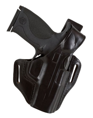 Bianchi 56 Serpent Holster Fits Glock 26, 27, 33 (Black, Right hand) (56 Serpent Holster)