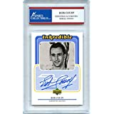 Bob Cousy 1999 Upper Deck Retro Inkredible Boston Celtics Autographed Signed Trading Card - Certified Authentic