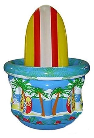 Cubitera hinchable surf - Única: Amazon.es: Juguetes y juegos