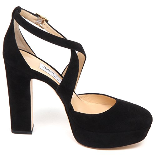 Choo Black Woman Jimmy Decollete Donna Nero Joyce Scarpe Shoe Suede E6550 wdnqfAOxI