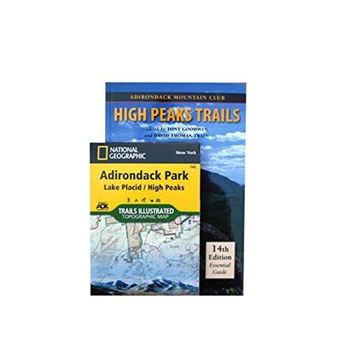 Adirondack Trails High Peaks Region (Forest Preserve, Vol. 1) (Forest Preserve Series, V. 1)