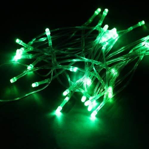 BIN BON - 40-LEDs 13 Pies Cadena de Luz LED Iluminacion De Navidad -Verde - - Amazon.com