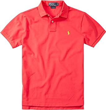 Polo Ralph Lauren - Polo - Homme Rose rose Medium - Rouge - Large ... 35edd656c788