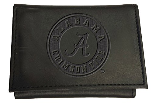 Team Sports America Leather Alabama Crimson Tide Tri-fold Wallet