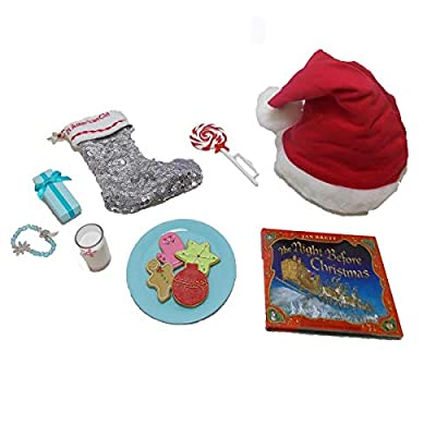 American Girl Truly Me Christmas Eve Set for 18
