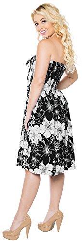 la Vestido Maxi Tirantes Midi Vestido Traje Negro Falda baño de de Tubo Halter Superior Mujer para de Encubrir g872 Playa Aloha Ropa de nCvx44f