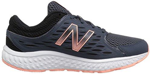 New Balance 420v3, Zapatillas Deportivas para Interior para Mujer Gris (Dark Grey-B)