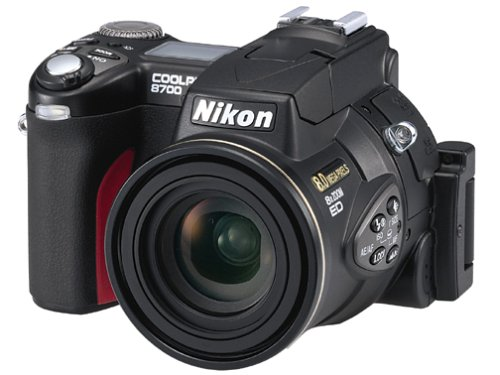 Nikon Coolpix 8700 8MP Digital Camera with 8x Optical Zoom (Discontinued by Manufacturer)