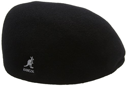 Kangol Para NULL Seamless 507 Black Sombrero Wool Negro Hombre BBq7UfRw