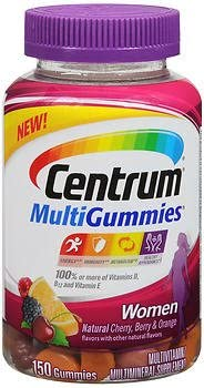 Centrum MultiGummies Women Multivitamin Multimineral Supplement – 150 ct, Pack of 2