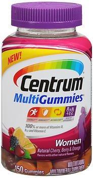 Centrum MultiGummies Women Multivitamin/Multimineral Supplement - 150 ct, Pack of 2