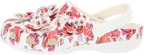 Pictures of Crocs Women's Classic Timeless Clash Roses Clog C13 5
