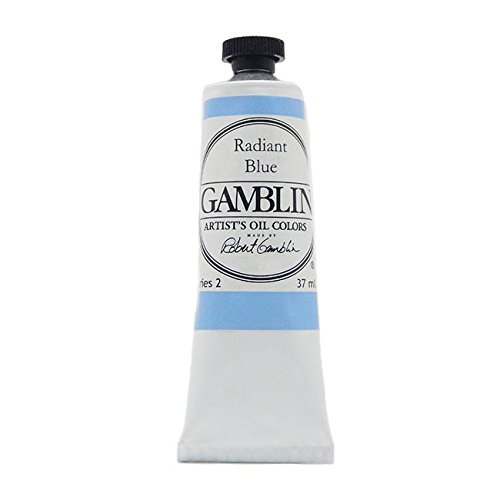 Gamblin Artist Oil Color Radiant Blue 37ml Tube