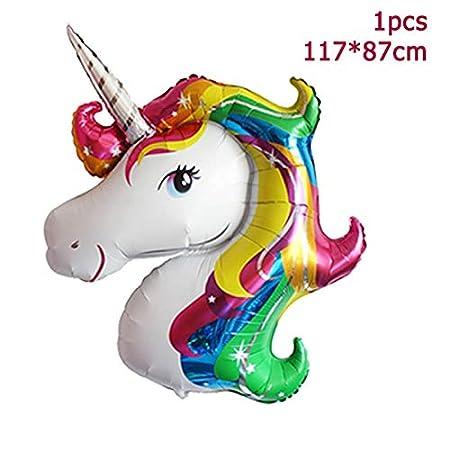 feliz Cumpleaños Fiesta De Unicornio Tazas De Papel Plato ...