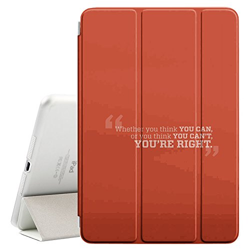 """Graphic4You You Think You Can Message Quote Ultra Slim Case Smart Cover Stand [with Sleep / Wake Function] for Apple iPad Pro (9.7"""") -  #P-IPADPRO9-K0089"""