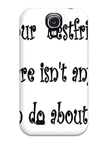 New Arrival Funny Friendship Quotes For Galaxy S4 Case Cover
