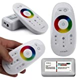 RGB 5050 Led Strip Touch Screen Dimmer 2.4G RF Wireless Remote Control System
