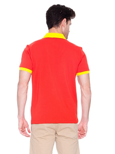 Hugo Boss Herren Poloshirt Orange Naranja brillante 36