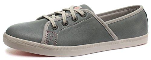 Caterpillar Orla Grey Womens Sneakers, Size 5