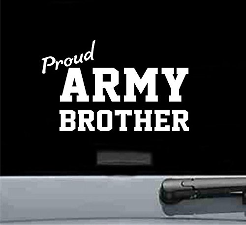 Proud army brother vinyl decal - Brothers Dodge Car