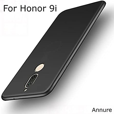 promo code 27ae8 8dee5 Annure TPU 360 protection Back Case for Honor 9i(Black Matte)