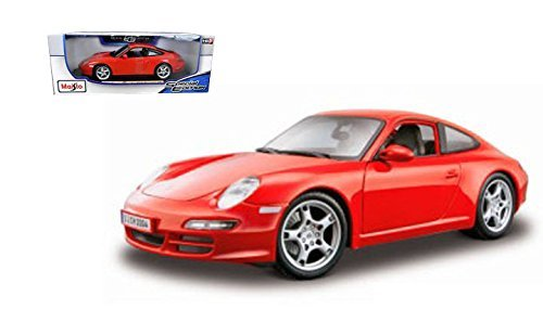 Maisto 1:18 Special Edition Porsche 911 Carrera S (Red) for sale  Delivered anywhere in USA