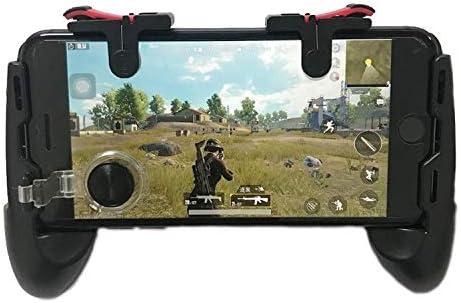 Control de juego, Juego de la palanca de mando 4 en 1 D9 come pollo for ayudar a la supervivencia Gamepads Grip Jedi Estimulación del campo de batalla móvil asa, for el iPhone, Galaxy, Sony, HTC, LG,