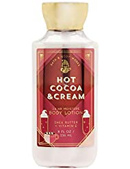 Bath and Body Works Hot Cocoa & Cream Super Smooth Shea Butter and Vitamin E Body Body Lotion 8 Ounce