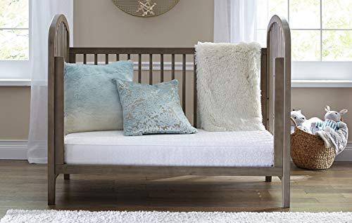 "413DJgqTUJL - Sealy Baby Flex Cool 2-Stage Airy Dual Firmness Waterproof Standard Toddler & Baby Crib Mattress, 51.7""x 27.3"""