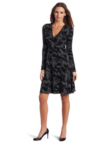 Karen Kane Women's Wrap Sweater Dress