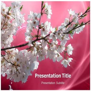 Cherry Blossom Powerpoint Template from images-na.ssl-images-amazon.com