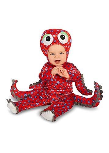 Red Octopus Baby Boys Costume (Children's Octopus Costume)
