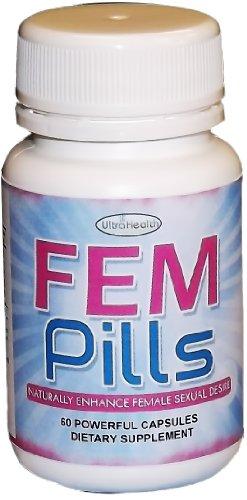 FemPills таблетки для женщин Повышение сексуальной реакции