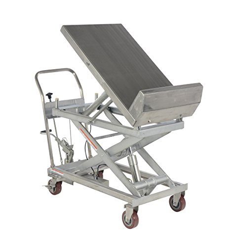 Vestil-CART-1000-LT-PSS-Partially-Stainless-Steel-Lift-and-Tilt-Cart-with-Sequence-Select-1000-lb-Capacity-33-58-x-22-Platform