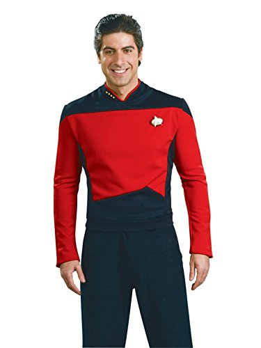 Rubie's Star Trek The Next Generation Deluxe Commander Picard Adult Costume Shirt, Medium -